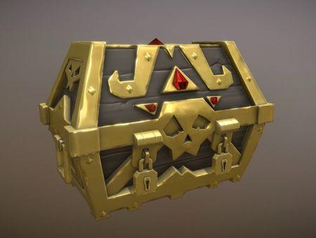 Sea of Thieves  Treasure Chest  - Fan Art
