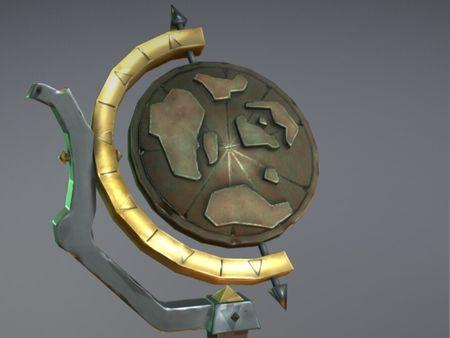 Sea of Thieves Merchant Globe - Fan Art