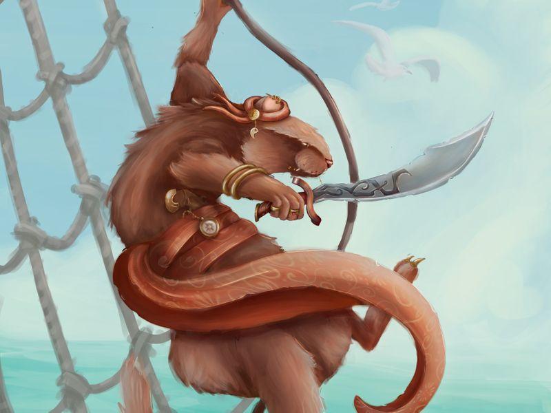 Animal warrior
