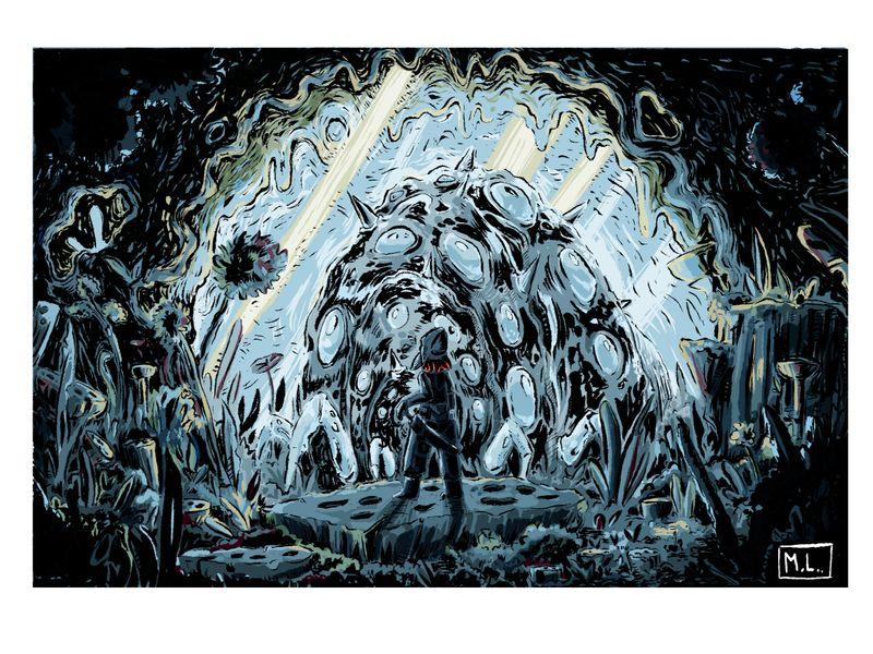 Nausicaa and the Ohmu