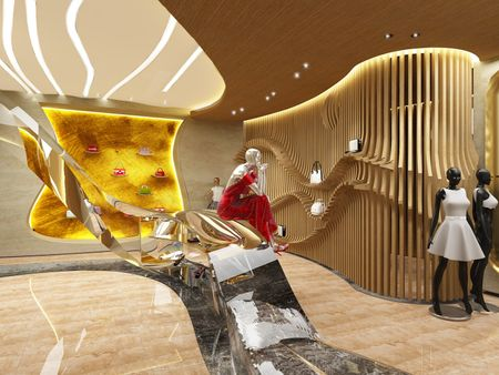 High-end Boutique Interior Design for FENDI