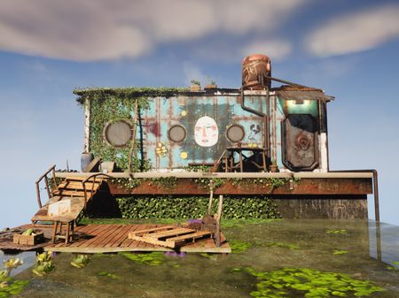 Cabbage Hut - Waterfront Diorama
