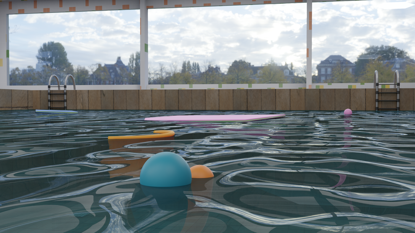 Summer Pool Render 03 Codetechninja