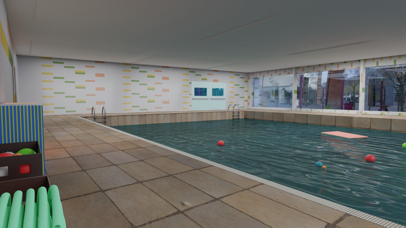Summer Pool Render 04 Codetechninja