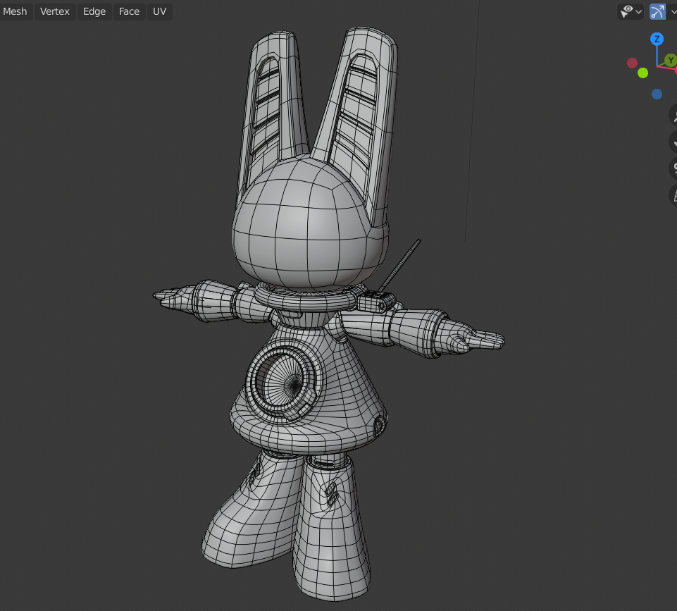 Wireframe Front Coldew