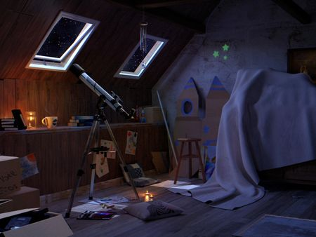 Attic of the space !