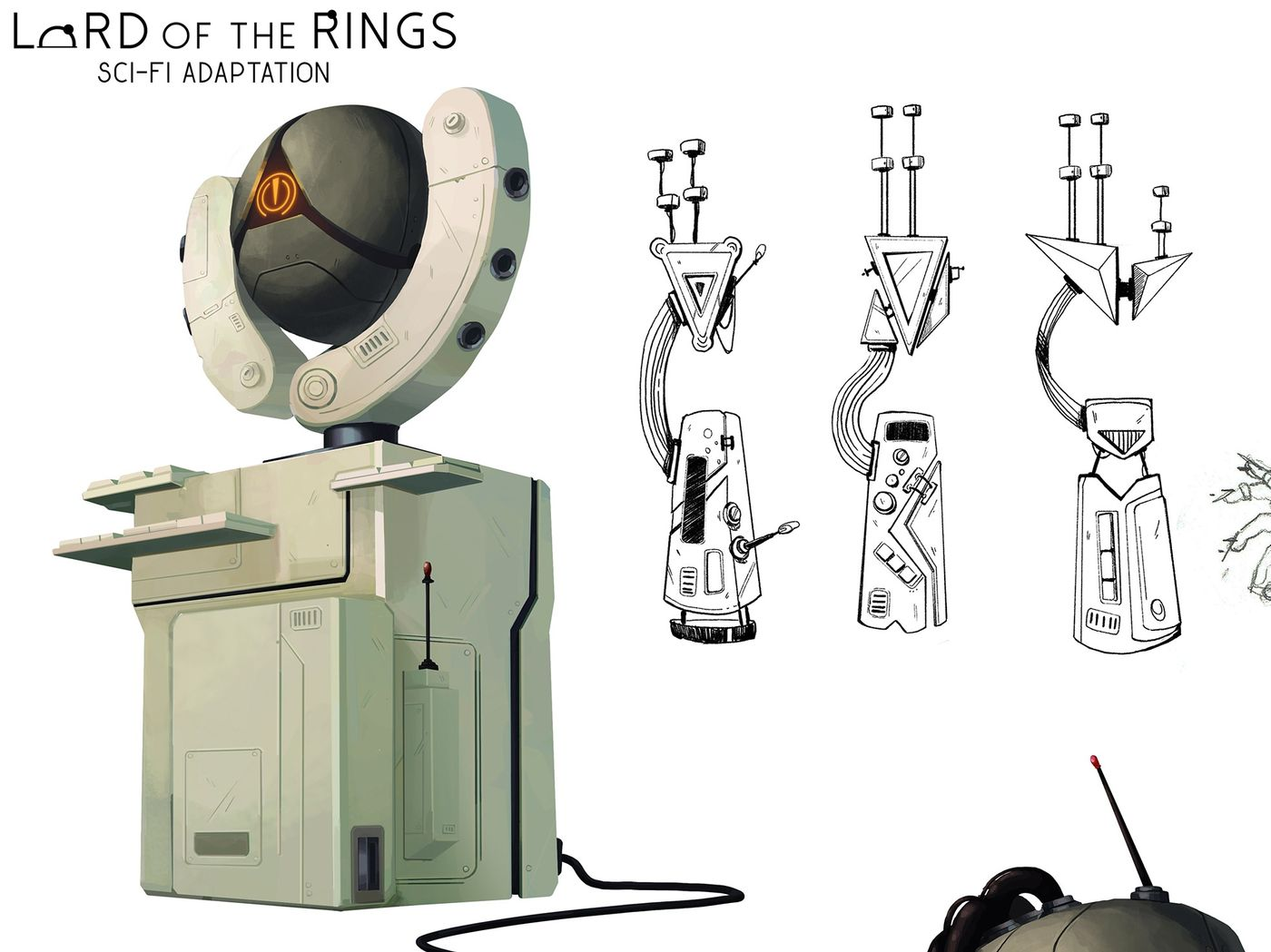 Lord of the Rings - Sci-fi