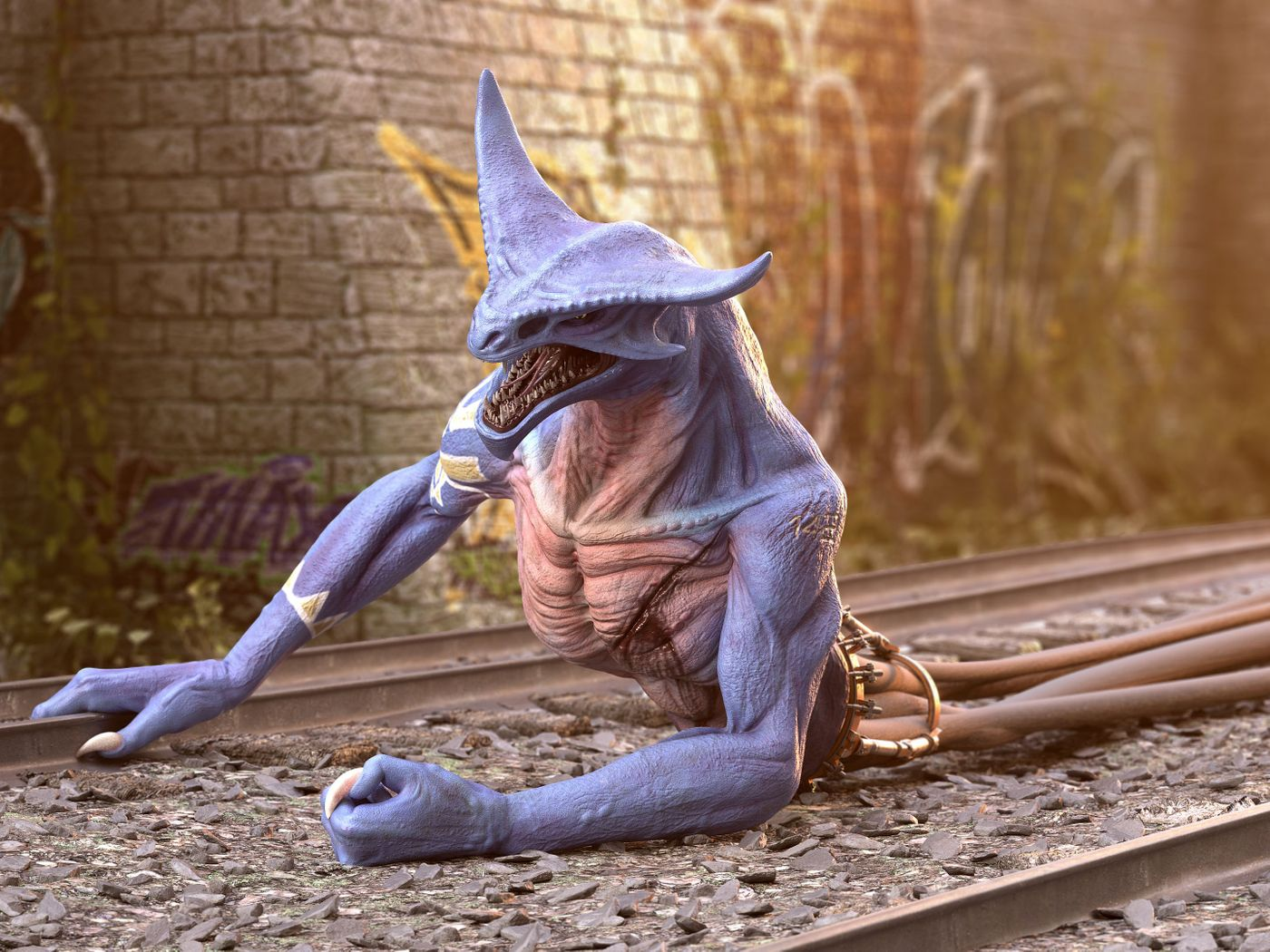 Dilpo the Blue Snake