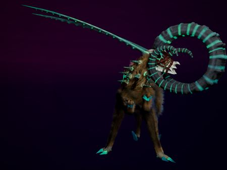 """Georgina"" Alien Creature"
