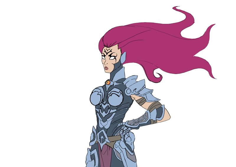 Fury from Darksiders