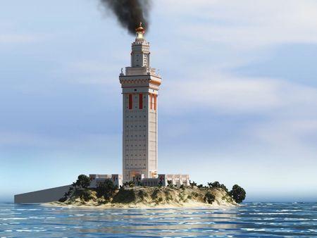 Lighthouse of Alexandria - Pharos