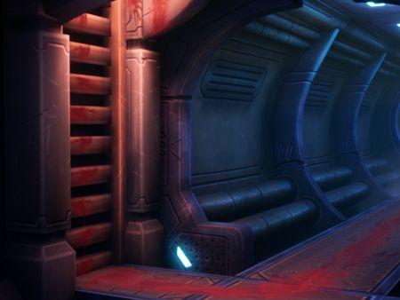 Sci-fi Hallway - 3D Fan Art