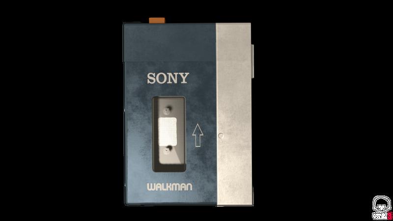 Sony Walkman Prop Model