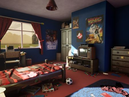 80s Bedroom - Final Game Project University