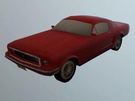 1960s Ford Mustang (3D Car Model)