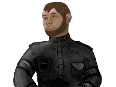 Space Soldier Character Design