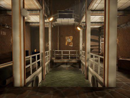 3D Game Art Environment - TimeSplitters: Future Perfect Environment