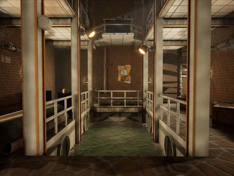 3D Game Art Environment - TimeSplitters: Future Perfect Environment
