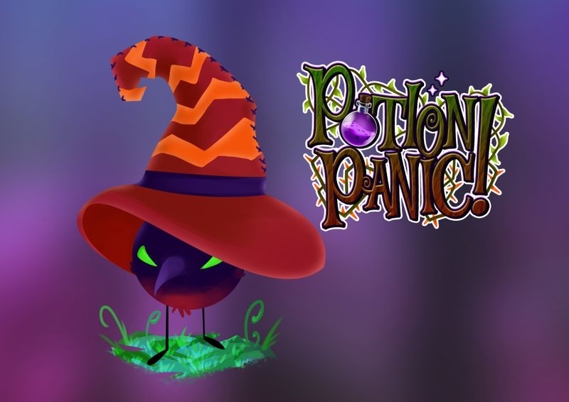 Potion Panic - Character Design