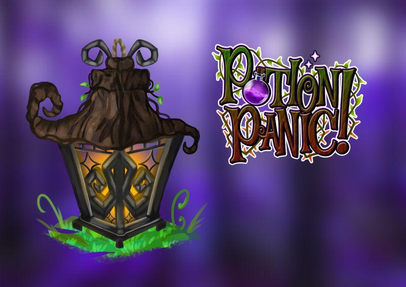 Potion Panic - Lantern Asset Concept