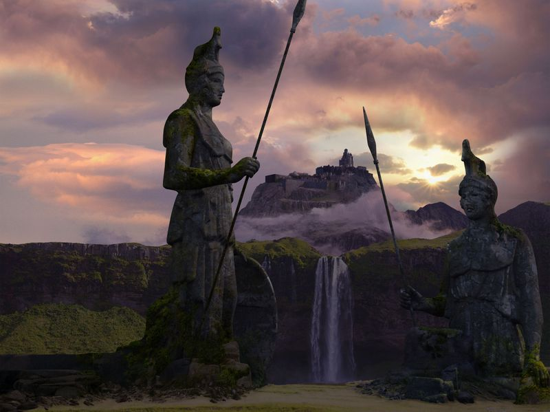 Game of Thrones - Matte Painting