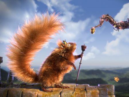 Furball - Squirrel King