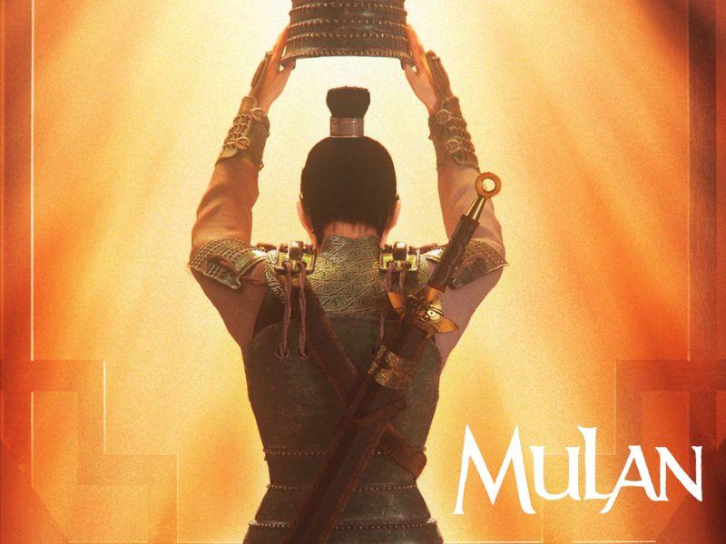 Disney's 1998 Mulan — Poster Fanart