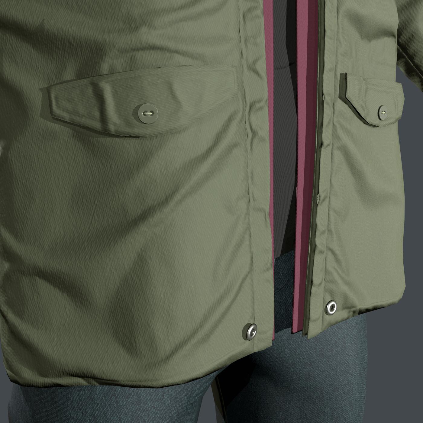 Jacket Crimsonben