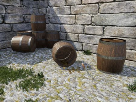 Barrel Game Assets