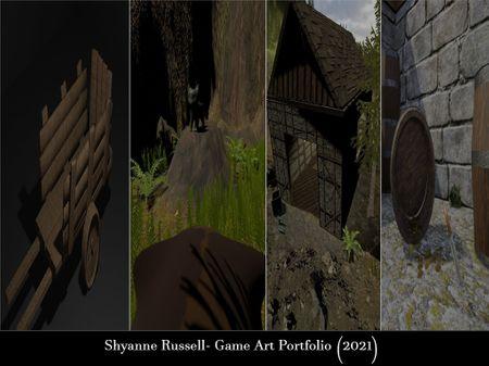 Shyanne Russell- Game Art Portfolio