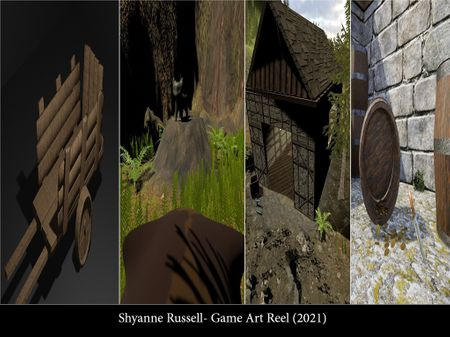 Shyanne Russell- Game Art and Environments
