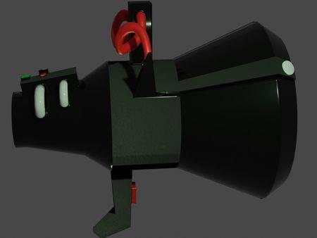 Stylized Alien Blaster