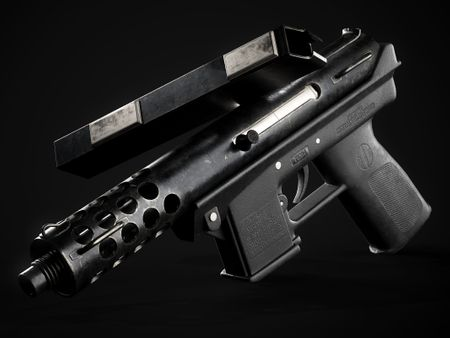 Intratec Tec-9 // Game Ready Asset
