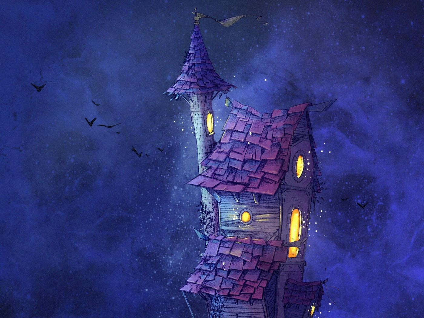THE WITCH'S HOUSES