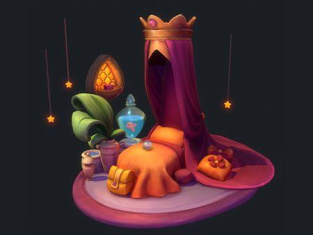 The Princess Bed