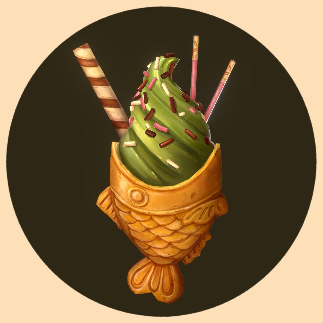 Handpainted Taiyaki Ice Cream%20%289%29 Curlscurly