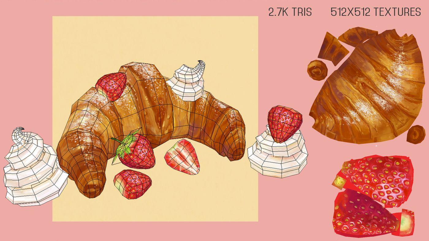 Jasmin Habezai Fekri Croissant1 Curlscurly