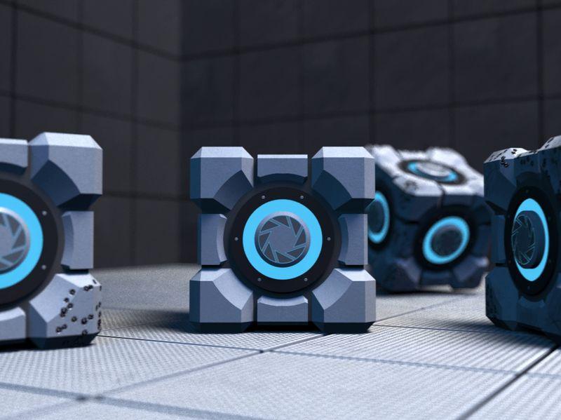 Portal Cubes Remake