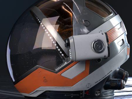 Martian Helmet - Personal Project