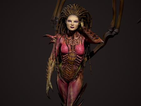 Kerrigan Queen of blades