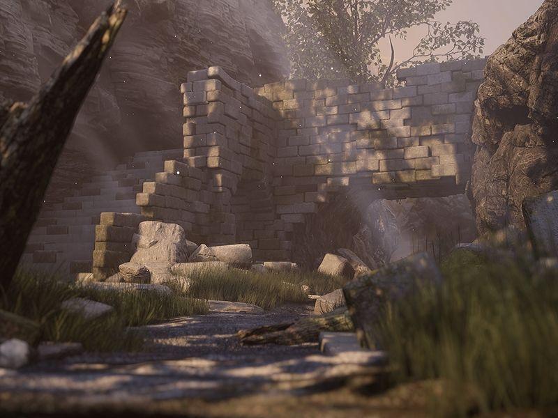 UE4 Ruins Scene