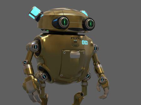 Eddie The Helper Robot