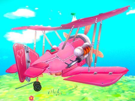 Stylized WW1 Plane - SE.5a 'Hisso'