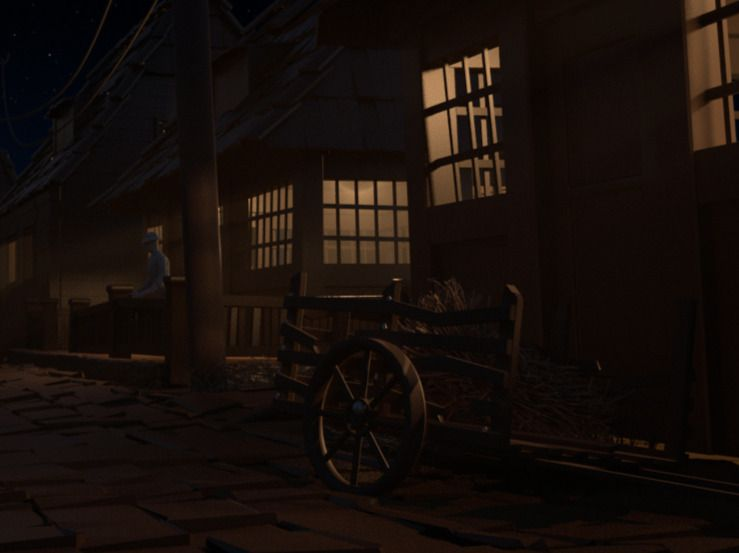 Village Scene Lighting