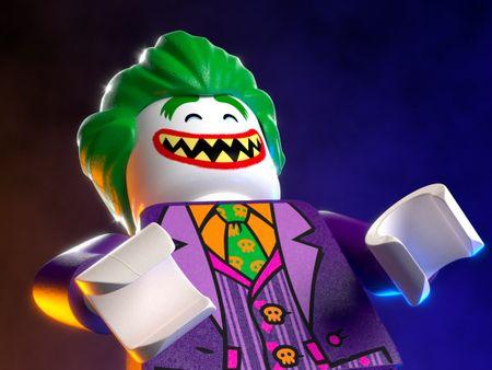 LEGO Joker Minifigure