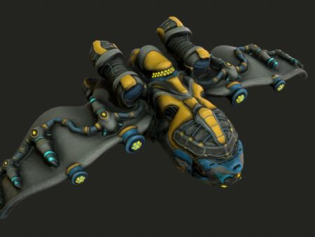 Spaceship for World of Discoveries competition