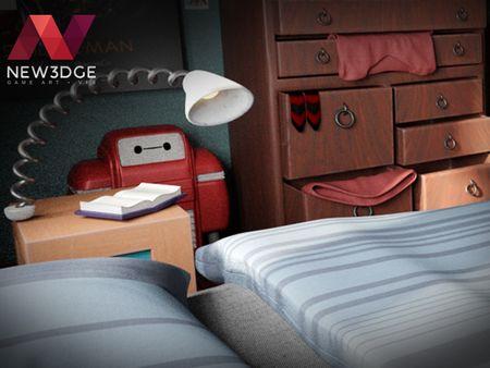 Hiro's Bedroom Concept