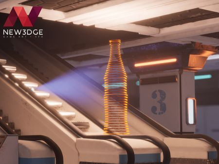 Modular SCI-FI Subway Station