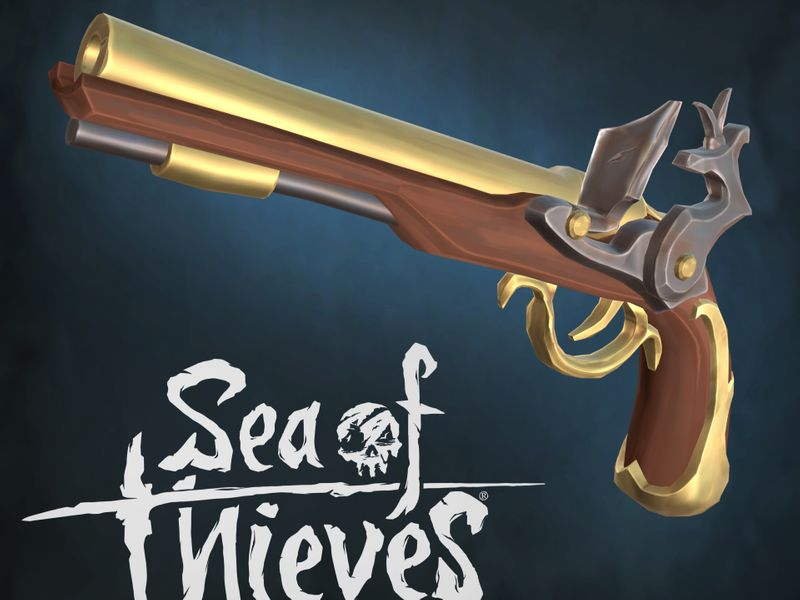 Sea of Thieves Flintlock Pistol