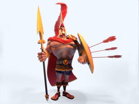 Arrogant centurion 3D version